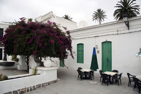 Court yard Lanzarote photo